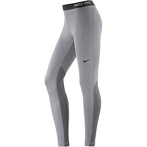 Nike Pro Dry Fit Tights Damen grau