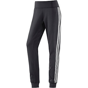 adidas D2M Trainingshose Damen schwarz/weiß