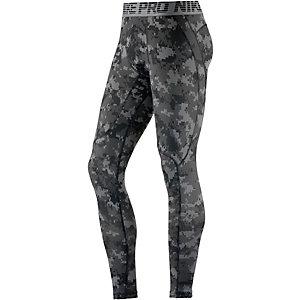 Nike Pro Hypercool Camo Tights Herren grau