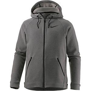 Nike Dry Hyper Funktionsjacke Herren grau