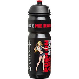 riesel design fla:sche 750 ml Trinkflasche schwarz/rot