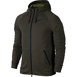 Nike Dry Hyper Funktionsjacke Herren oliv