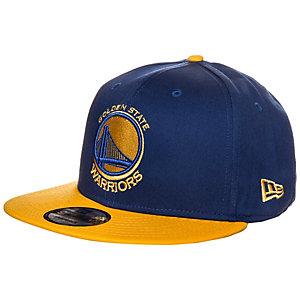 New Era 9FIFTY NBA Team Golden State Warriors Cap blau / gelb
