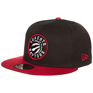 New Era 9FIFTY NBA Team Toronto Raptors Cap schwarz / rot