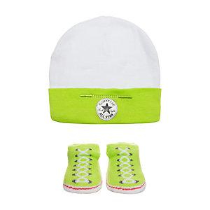 CONVERSE All Star Babyset Kinder hellgrün / weiß
