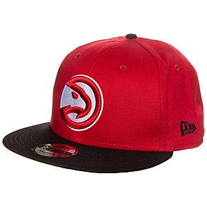 New Era 9FIFTY NBA Team Atlanta Hawks Cap rot / schwarz