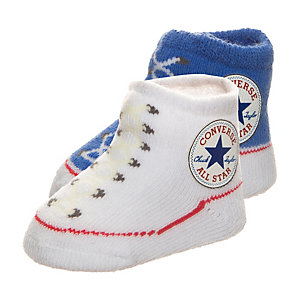 CONVERSE All Star Babysocke Kinder weiß / blau