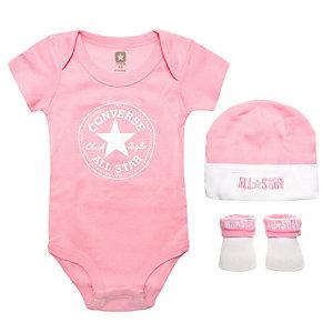 CONVERSE All Star Babyset Mädchen rosa / weiß