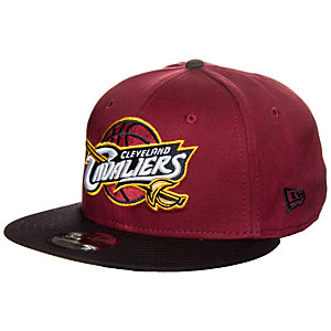 New Era 9FIFTY NBA Team Cleveland Cavaliers Cap bordeaux / schwarz