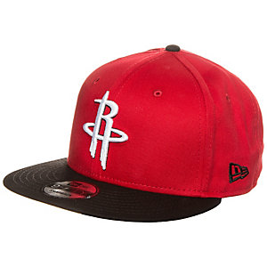 New Era 9FIFTY NBA Team Houston Rockets Cap schwarz / rot