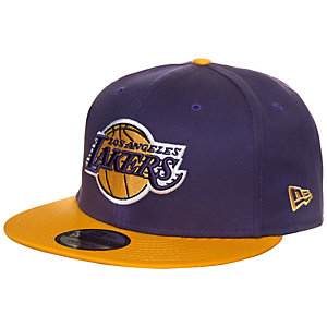 New Era 9FIFTY NBA Team Los Angeles Lakers Cap lila / gelb
