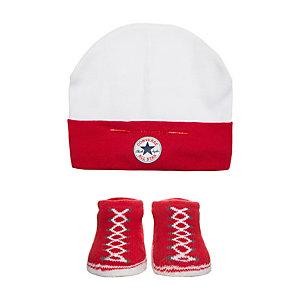 CONVERSE All Star Babyset Kinder rot / weiß