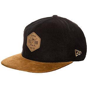 New Era 9FIFTY Hex Cord Cap schwarz / braun
