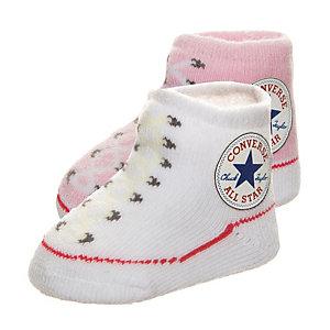 CONVERSE All Star Babysocke Mädchen rosa / weiß