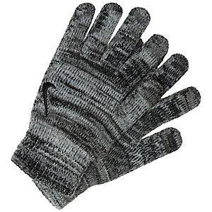 Nike Knitted Grip Tech Fitnesshandschuhe Herren schwarz / dunkelgrau