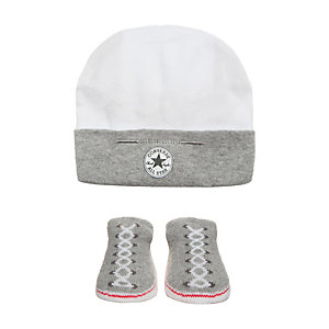 CONVERSE All Star Babyset Kinder grau / weiß