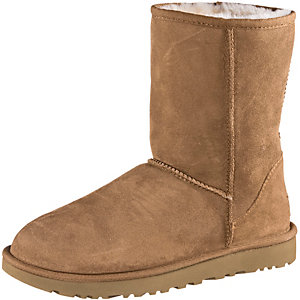 Ugg Australia Classic Short II Stiefel Damen beige