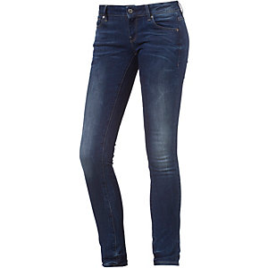G-Star 3301 Low Skinny Fit Jeans Damen dark denim