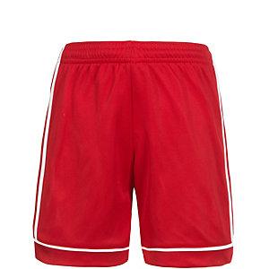 adidas Squadra 17 Fußballshorts Kinder rot / weiß