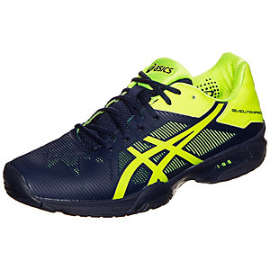 ASICS Gel-Solution Speed 3 Tennisschuhe Herren dunkelblau / gelb