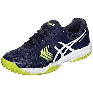 ASICS Gel-Dedicate 5 Clay Tennisschuhe Herren dunkelblau / gelb