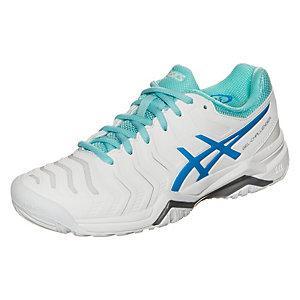 ASICS Gel-Challenger 11 Tennisschuhe Damen weiß / blau