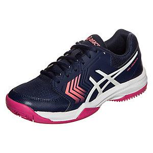 ASICS Gel-Dedicate 5 Clay Tennisschuhe Damen dunkelblau / pink