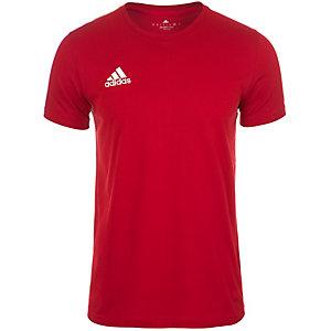 adidas Core 15 T-Shirt Herren rot / weiß