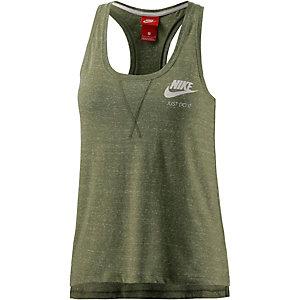 Nike Gym Vintage Tanktop Damen khaki/melange