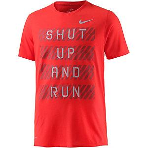 Nike Laufshirt Herren orange