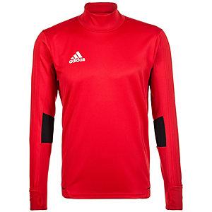 adidas Tiro 17 Langarmshirt Herren rot / weiß