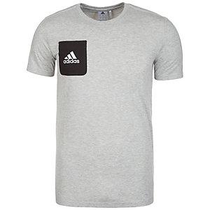 adidas Tiro 17 Funktionsshirt Herren grau / schwarz