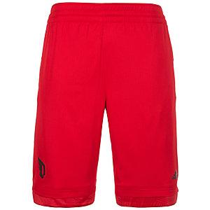 adidas Dame Icon Basketball-Shorts Herren rot / schwarz