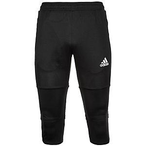 adidas Tiro 17 3/4 Funktionshose Herren schwarz / weiß