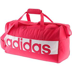 adidas sporttasche damen pink wei im online shop von. Black Bedroom Furniture Sets. Home Design Ideas