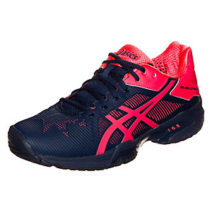 ASICS Gel-Solution Speed 3 Tennisschuhe Damen dunkelblau / pink