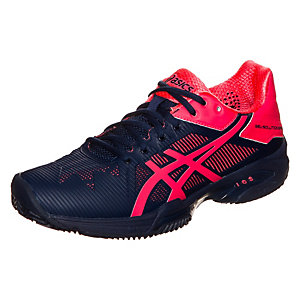 ASICS Gel-Solution Speed 3 Clay Tennisschuhe Damen dunkelblau / pink