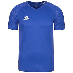 adidas Tiro 17 Funktionsshirt Herren blau / weiß
