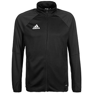adidas Tiro 17 Trainingsjacke Herren schwarz / weiß