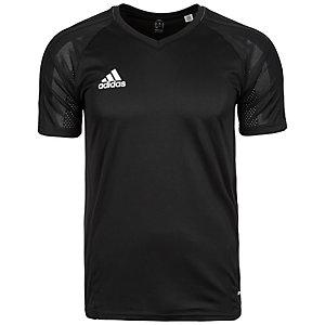 adidas Tiro 17 Funktionsshirt Herren schwarz / weiß