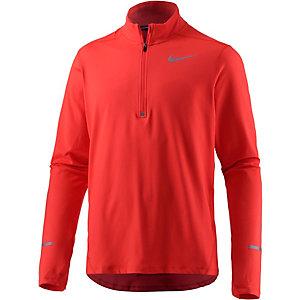 Nike Element Laufshirt Herren orange