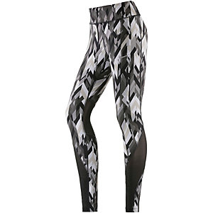 Nike Power Epic Lux Lauftights Damen grau/weiß/schwarz
