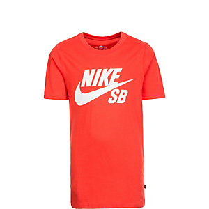 Nike SB Logo Funktionsshirt Kinder orange