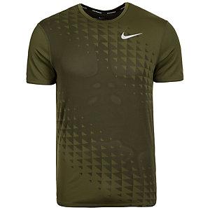 Nike Zonal Cooling Relay Laufshirt Herren grün