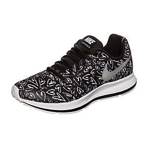 Nike Zoom Pegasus 33 Print Laufschuhe Mädchen schwarz / silber
