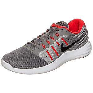 Nike Lunarstelos Laufschuhe Herren grau / orange