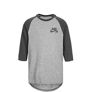 Nike Dry Top Funktionsshirt Kinder grau / anthrazit