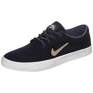 Nike Portmore Canvas Premium Sneaker Herren dunkelblau / beige