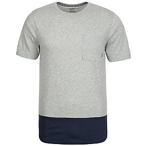 Nike Dry Top T-Shirt Herren grau / dunkelblau