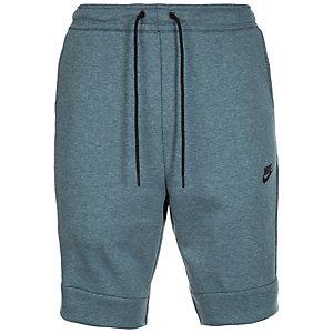 Nike Tech Fleece Shorts Herren grüngrau / schwarz